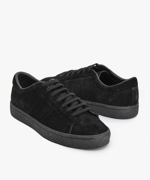 FRED PERRY SPENCER LEA B1188 Black