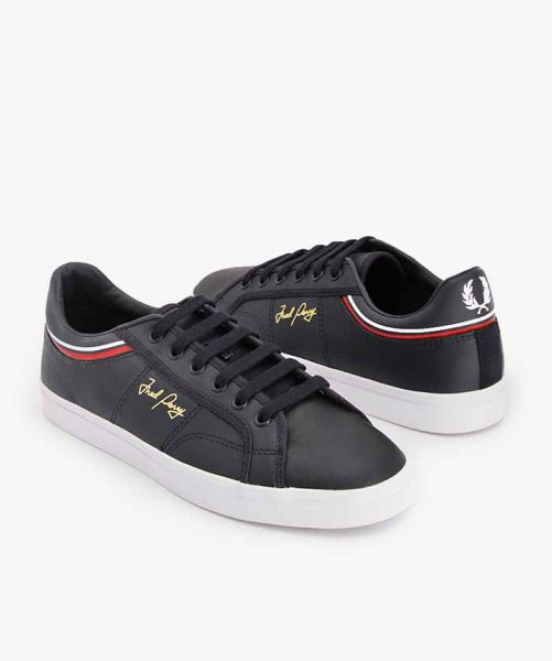 FRED PERRY SIDESPIN B1180 Navy