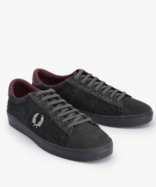FRED PERRY SPENCER TWIED  B9071 Gray
