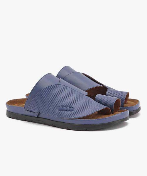 CP-6300 Shargy Leather Sandal Blue