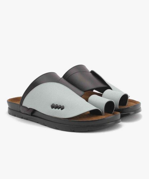 CP-6301 Shargy Leather Sandal blue