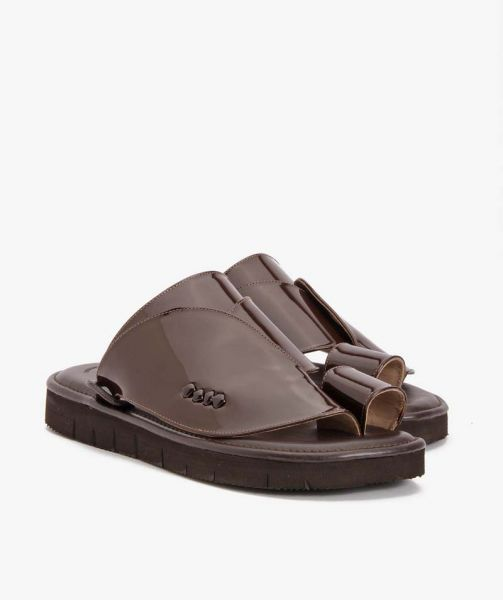 Shargy Leather Sandal Shiny